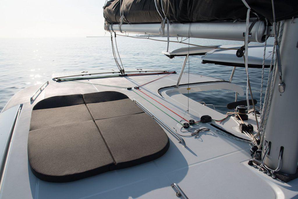 spazi del catamarano
