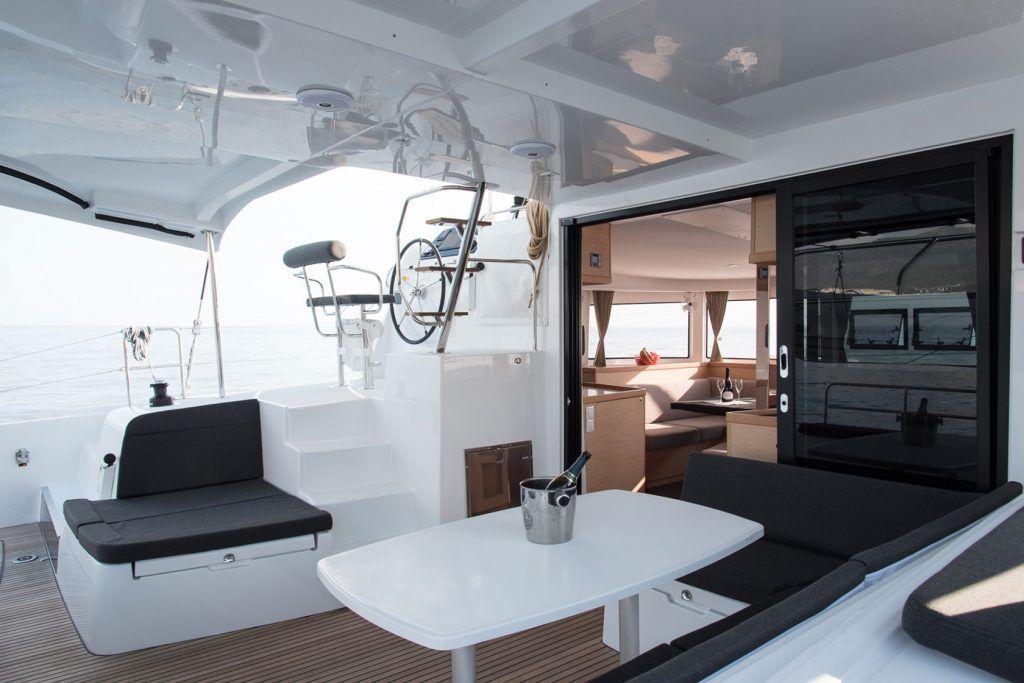 pozzetto del catamarano