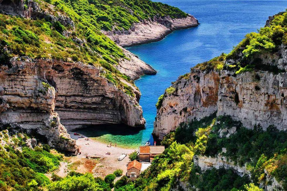 Stiniva, Croazia