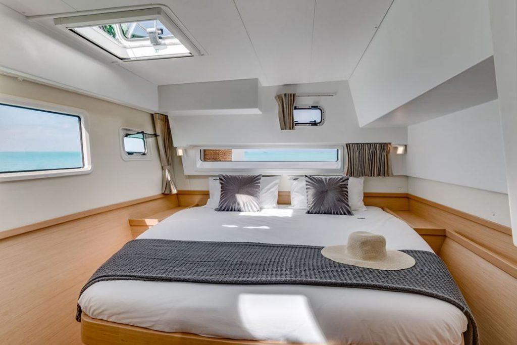 Noleggio catamarano lagoon 42 cabina