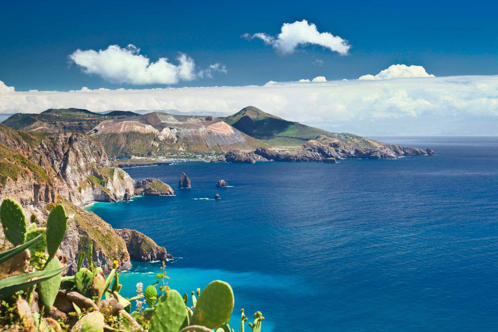 Lipari e Vulcano alle Isole Eolie