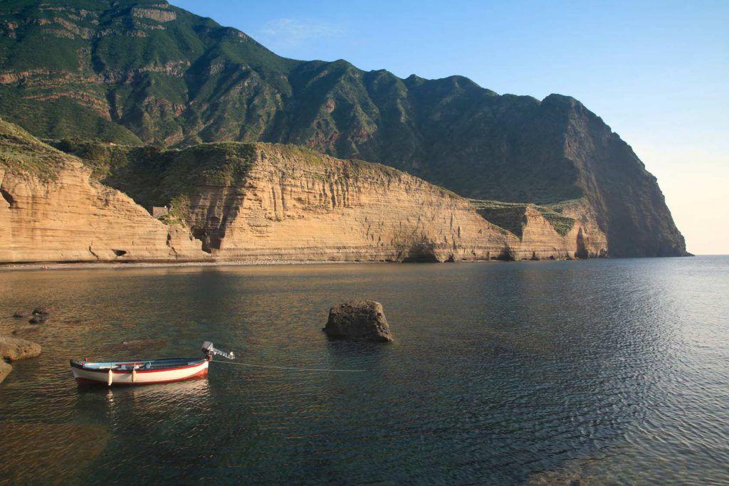 pollara salina in barca