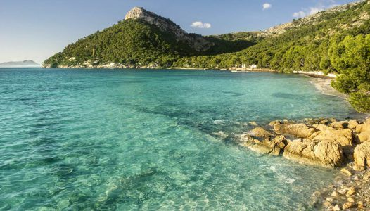 formentor beach in Majorca Spain