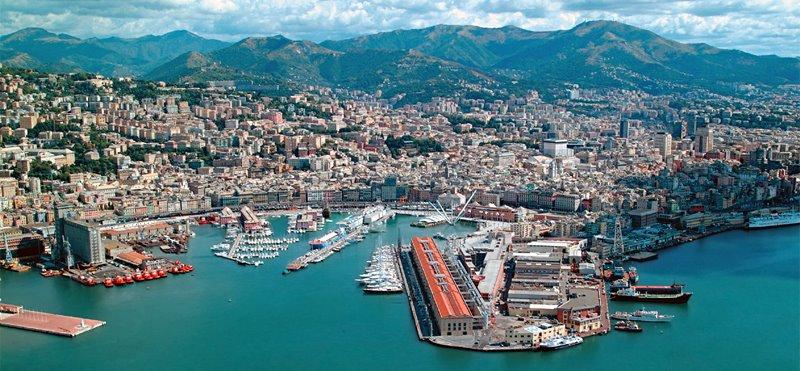Genova In Barca A Vela