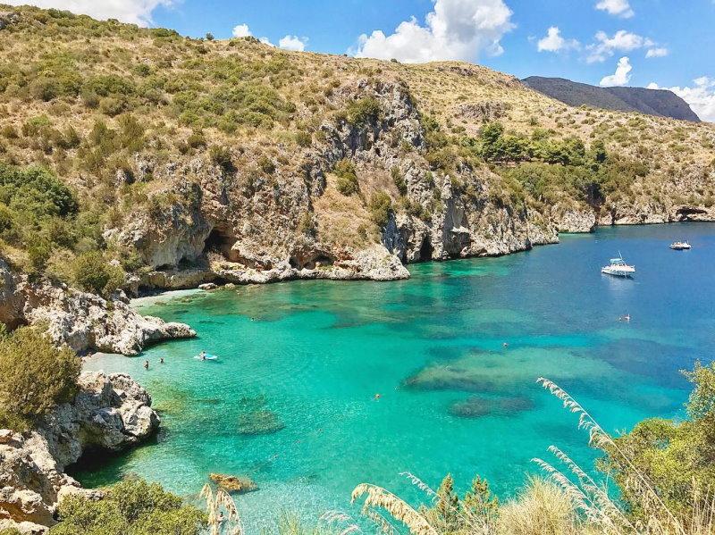 Vacanza in catamarano in Cilento