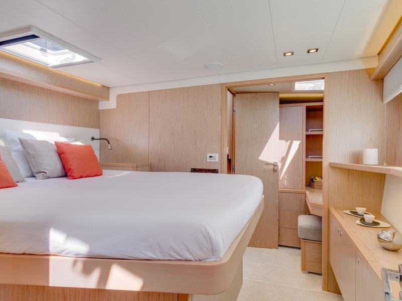 Lagoon 52 F cabine