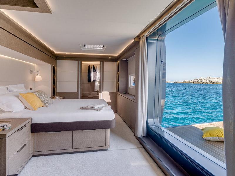 Lagoon Seventy 7 cabine