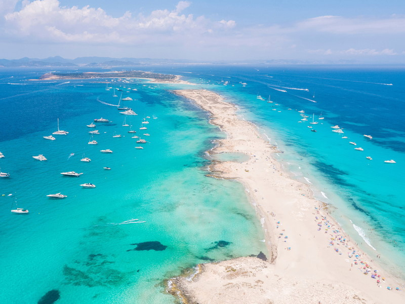 Noleggio catamarano Formentera