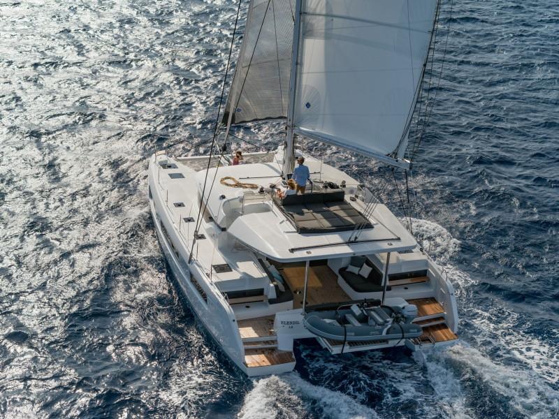 Noleggio Lagoon 50 con skipper